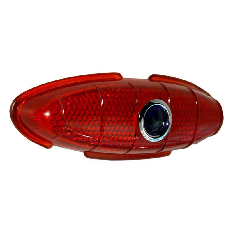 1949 1950 Ford Tail Light Lens With Glass Blue Dot Wirth
