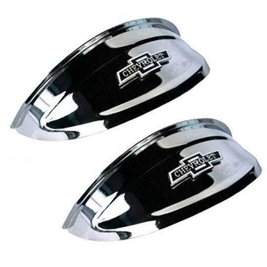 Chevrolet Bowtie Chrome Headlight Visors